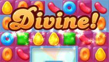 Candy Crush Jelly Saga: divine