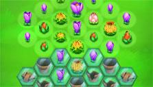 Blossom Blast Saga: flowers under glass