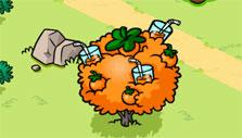 an upgraded orange tree in Garfield: Survival of the Fattest