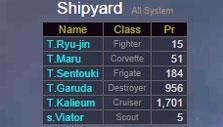 Unification Wars: Shipyard