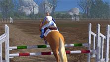 show jumping in Planet Horse