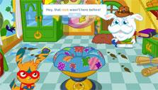 a quest in Moshi Monsters