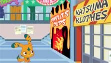 Moshi Monsters: clothes store