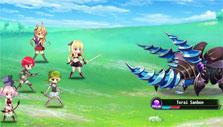Raiding in Flower Knight Girl