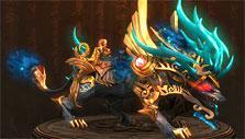 Dragonbone Dynasty: Werejackal mount