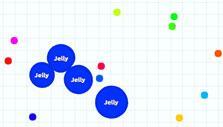 Agar.io: Cell division