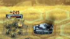 fighting tanks in Liberators