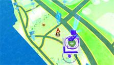 Pokemon Go: Game map