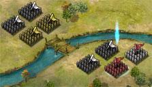 Rage of 3 Kingdoms: Defeating armies