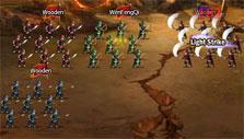 Epic battle in Rage of 3 Kingdoms