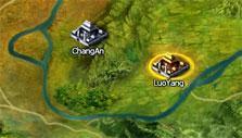 Rage of 3 Kingdoms: World map