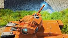 Tanki X: The bolt-action Railgun