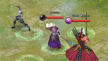 Combat formation in Swords of Divinity