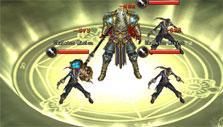 Swords of Divinity: Brilliant AoE ability