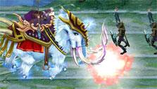 Brave adventure mini-game in Swords of Divinity