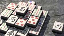 Globe in Zen Garden Mahjong