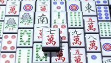 Classic Top View in Zen Garden Mahjong