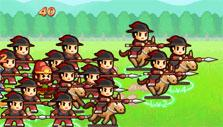 Charging cavalry in Lil' Conquest