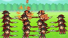 Lil' Conquest: Infantry in action