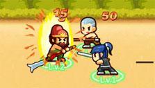 Hero vs hero in Lil' Conquest