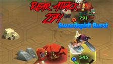 Clash of Legends: Rear attack