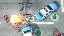 Mercenary's Molotov bomb in Zombie Defense