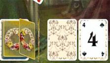 Drawing a card in Solitaire Victorian Picnic