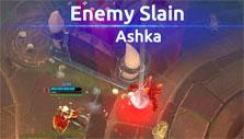 Enemy slain in vs-AI match in Battlerite