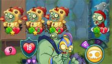 Playing as a zombie in PvZ Heroes
