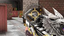 Cool sniper rifle skin in Crisis Action