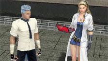 Talking to NPC in Ran World