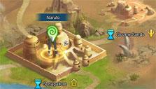 World map in Clash of Ninja