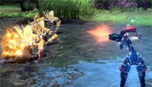 Phantasy Star Online 2: Ranger gameplay