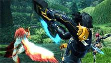 Combat in Phantasy Star Online 2