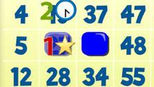 Daubing a number in BamBam Bingo