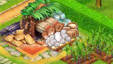 Producing sugar in Farm Tribe 3
