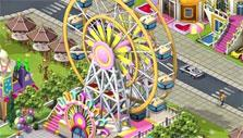 Ferris wheel in Lily City