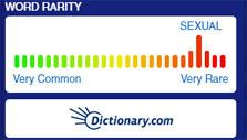 Word rarity in Words with Friends