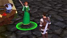 Villagers and Heroes: Grabbing a quest
