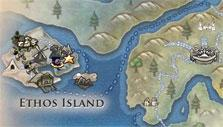 World map in Villagers and Heroes
