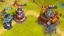 Royal Arena: Attacking main base
