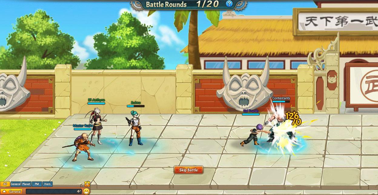 Dragonball Z Online - WWGDB
