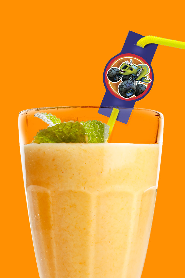 Blazing Banana Mango Smoothie