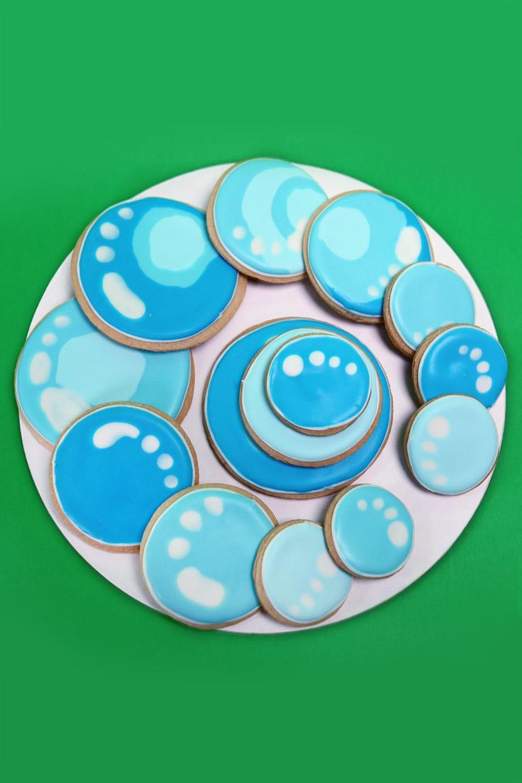 Bubble Guppies Bubble Cookies