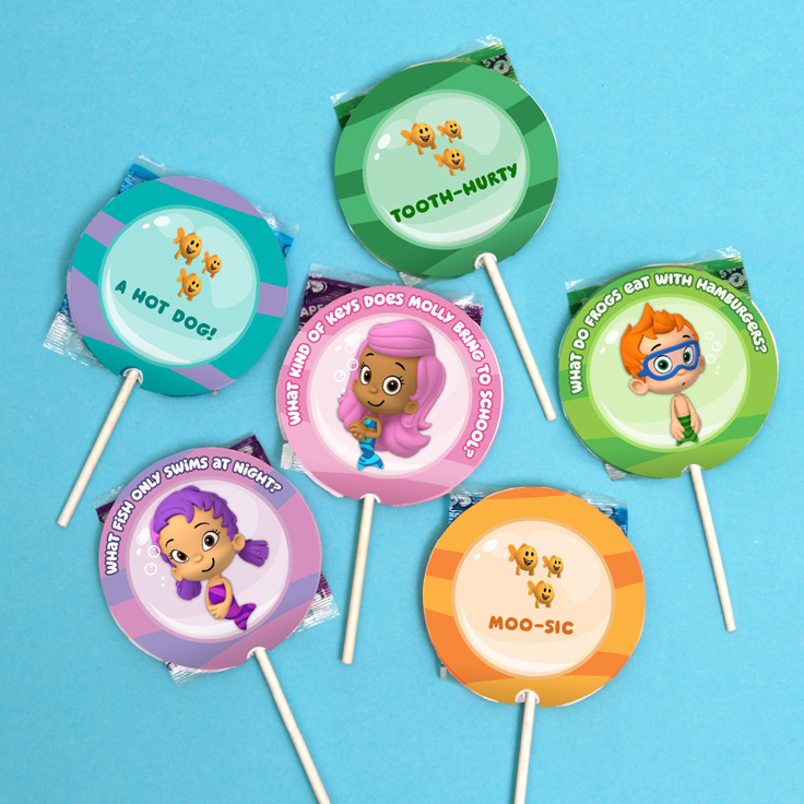 picture about Bubble Guppies Printable referred to as Bubble Guppies Riddle Wrappers Bash Desire Nickelodeon Mothers and fathers