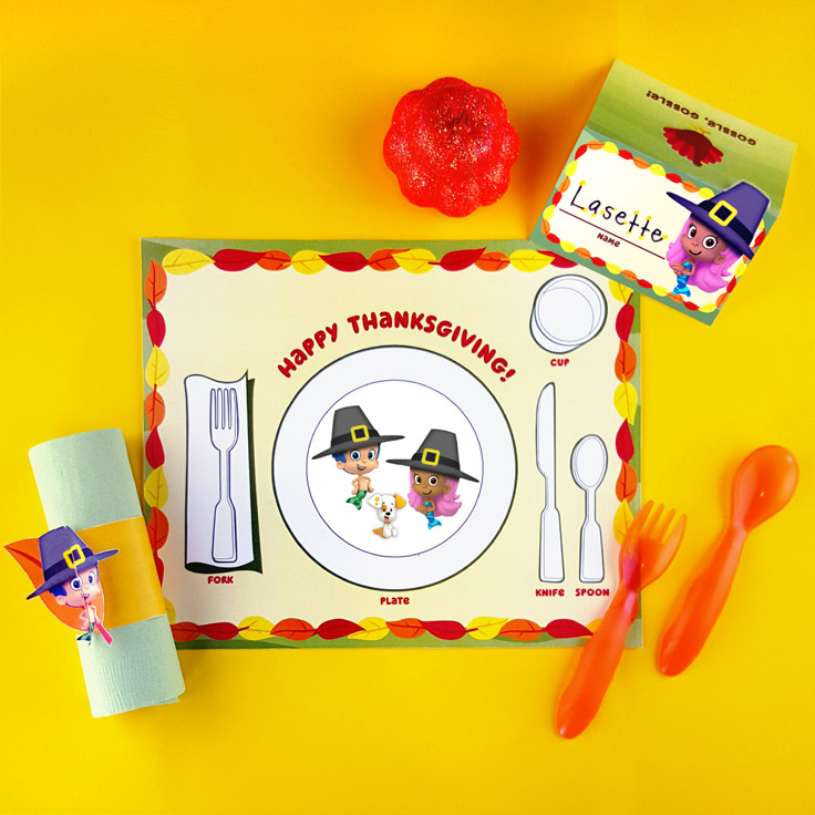 Bubble Guppies Table Setting Pack