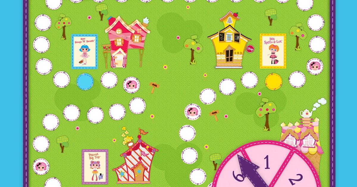 Lalaloopsy Land Board Game Nickelodeon Parents