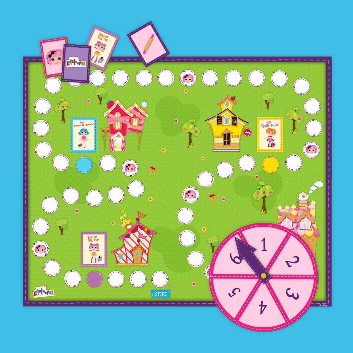 Lalaloopsy Board Game