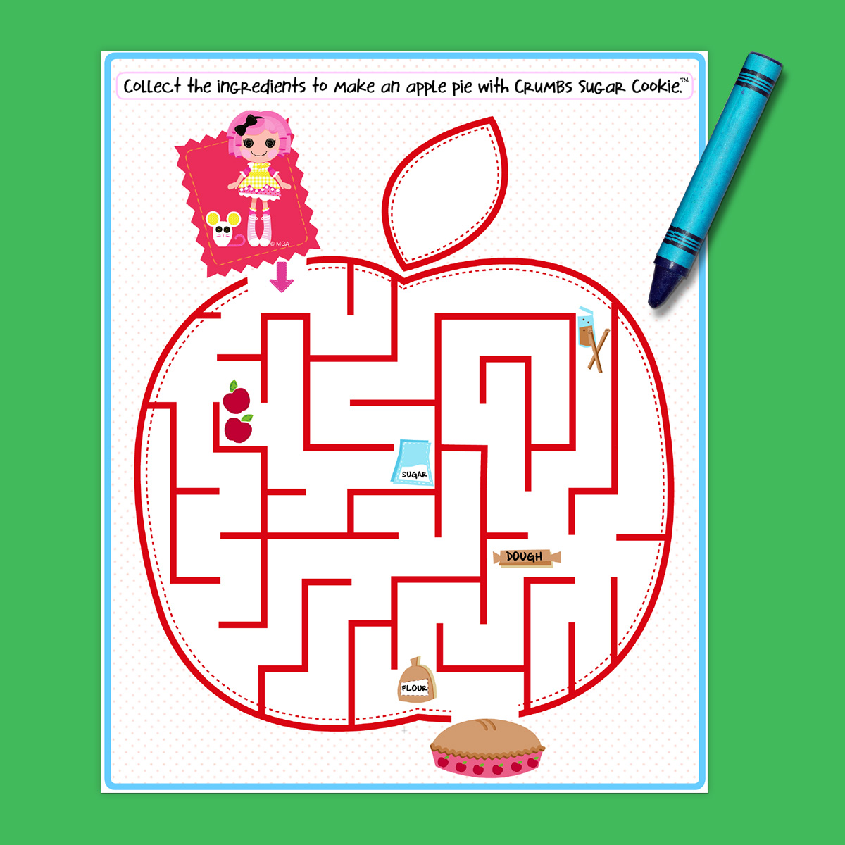 Lalaloopsy Party Maze