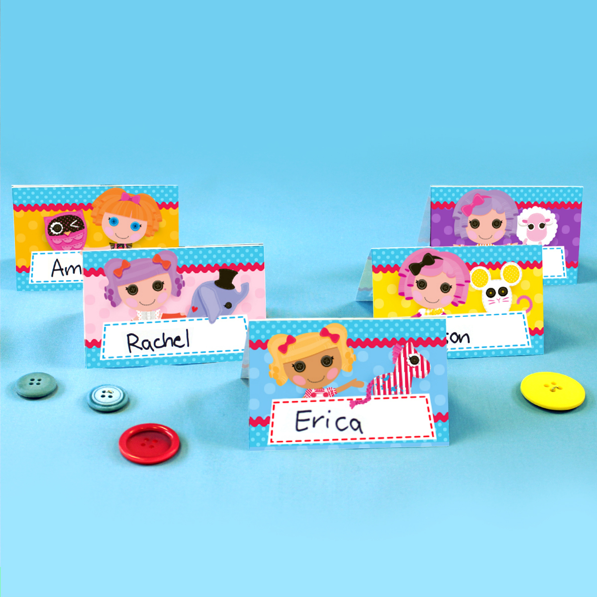 Lalaloopsy Place Cards